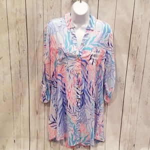 """NWT NEVER WORN Lilly Pulitzer """"Natalie"""" Cover Up!"""